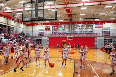 Girls JV Basketball - 1/9/2020 Central Montcalm