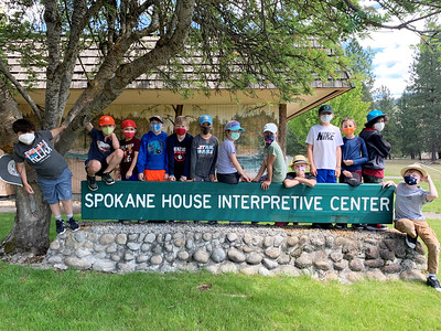 LS 3rd Hike to Spokane House 5-27-21