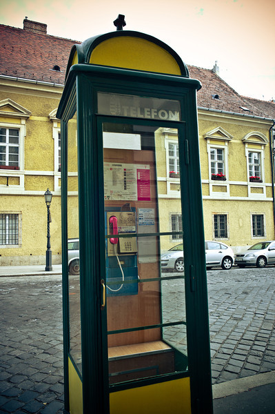 phone booth at Castle Hill