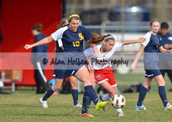 Girls JV Soccer Grand Ledge at Mason