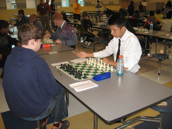 Hopkins Scholastic at Hopewell Chess Tournament
