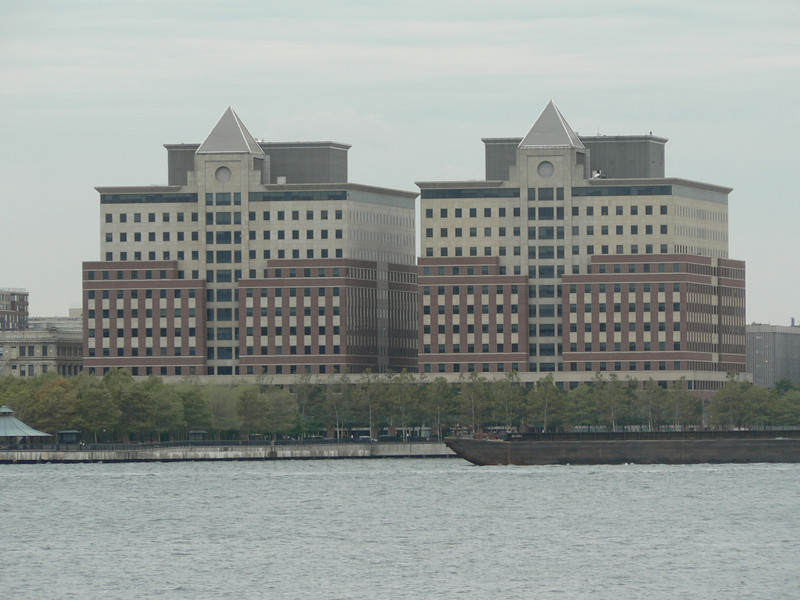 View across the Hudson from just outside the hotel