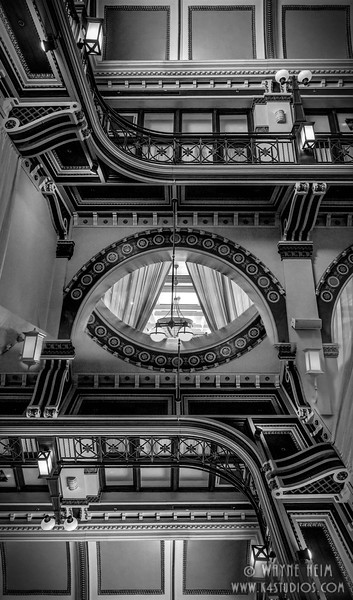 Mirrored - Black & White Photography by Wayne Heim
