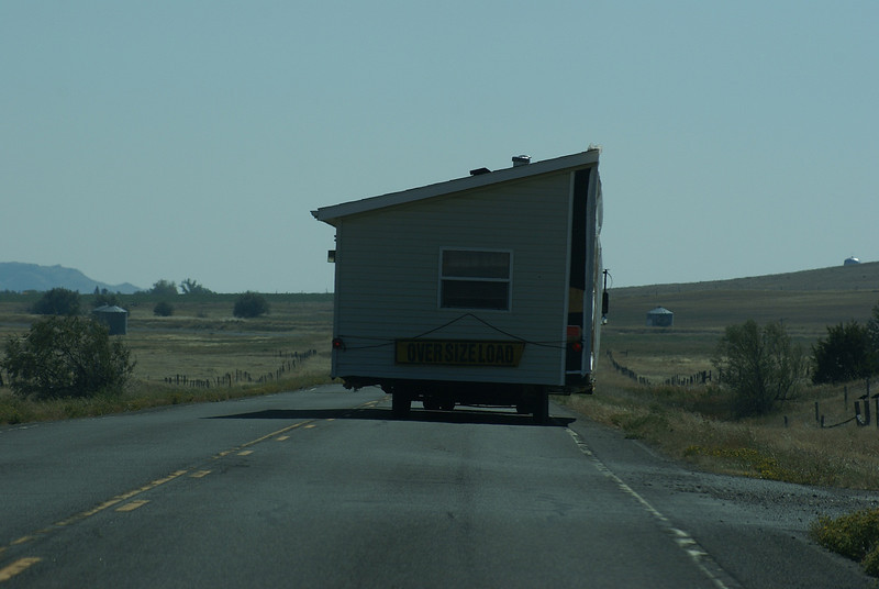 been on this road for so long we decided to build a home on the back of the truck.