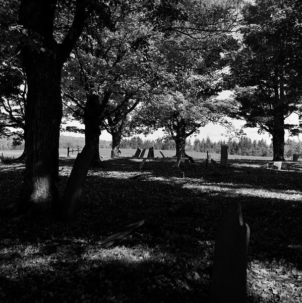 Civil War Era Cemetery, Peterboro, NY. October 2014
