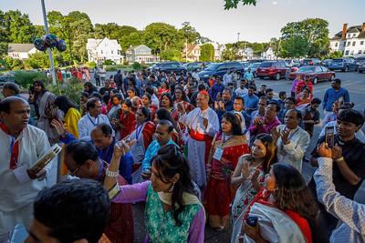 Cardinal Patrick D'Rozalio's Visit to Bangladeshi Community