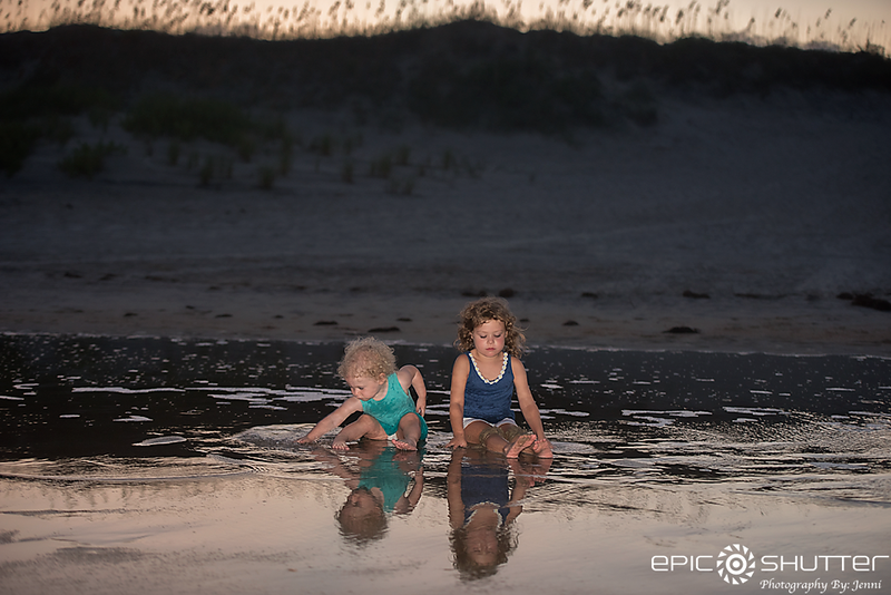 Salvo Family Vacation, Family Portraits, Hatteras Island, North Carolina, Family Beach Photos, Epic Shutter Photography