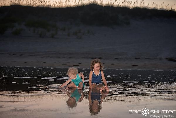 Salvo Family Vacation, Family Portraits, Hatteras Island, North Carolina, Family Beach Photos, Epic Shutter Photography