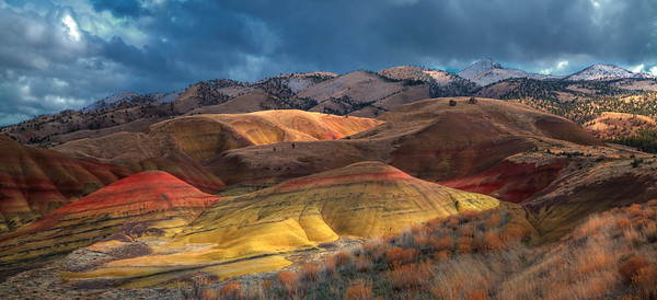Painted Hills After Rain Shower