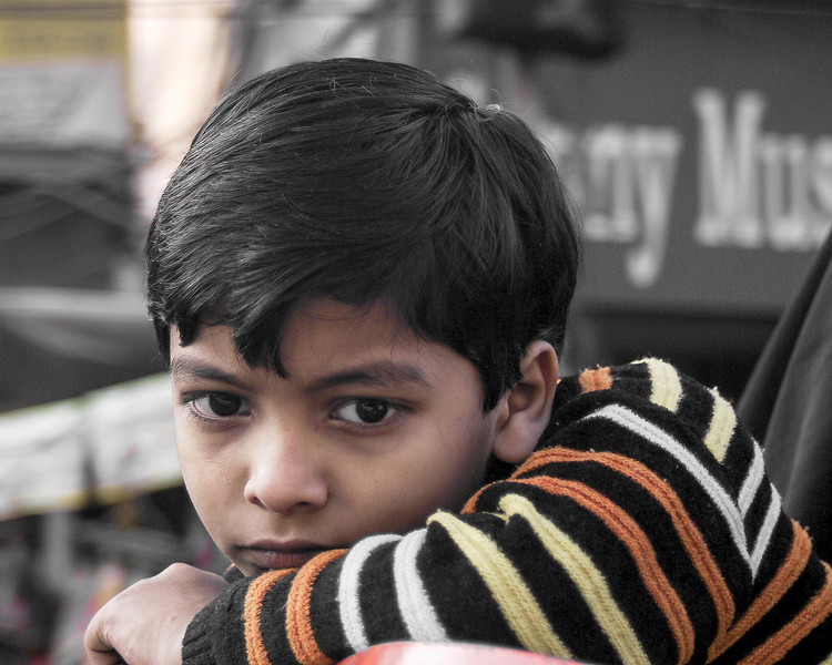 Young Boy in India