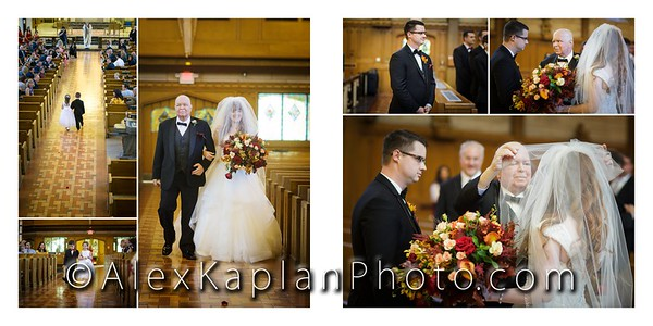 Wedding at the St. Paul's Catholic Church & The Battleground Country Club, Manalapan, NJ