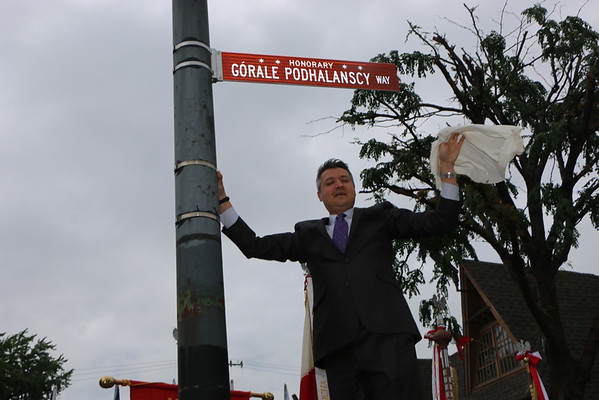 "Honorary ""Górale Podhalańscy"" Way"