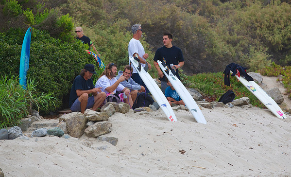 Randy Sleigh's Paddle Out 2012