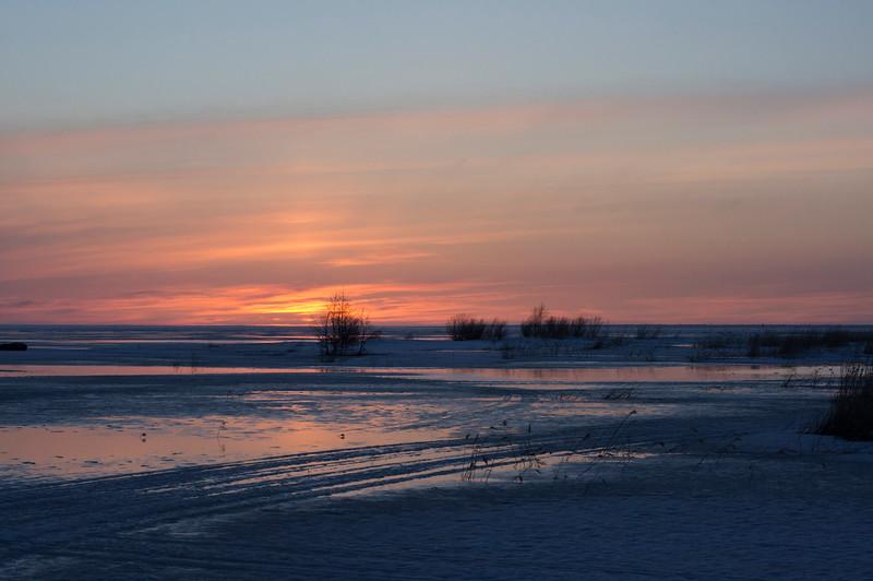 Sunset at Oulunsalo