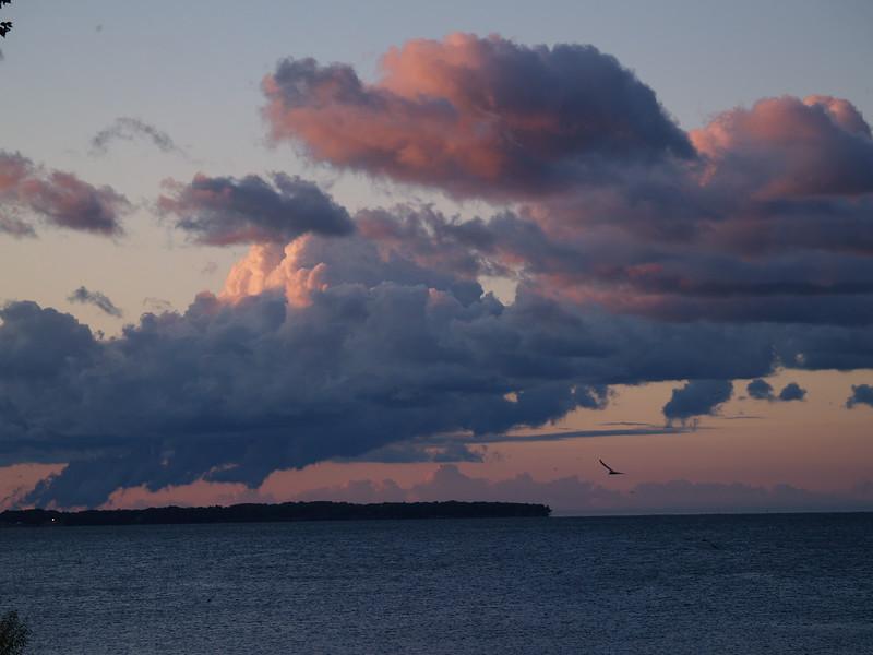 September morning over Kelleys Island