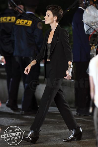 Kate Kane AKA Batwoman Played by Ruby Rose Filming Season 1 In Vancouver