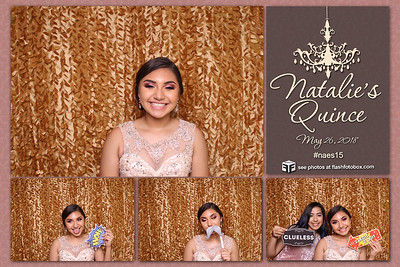NATALIE'S QUINCE - MAY 26,2018