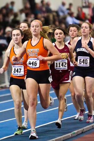 2011 NNHS Track vs Framingham Running