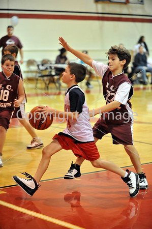 St. Catharine's 4th Grade Boys Red VS Immaculate Maroon