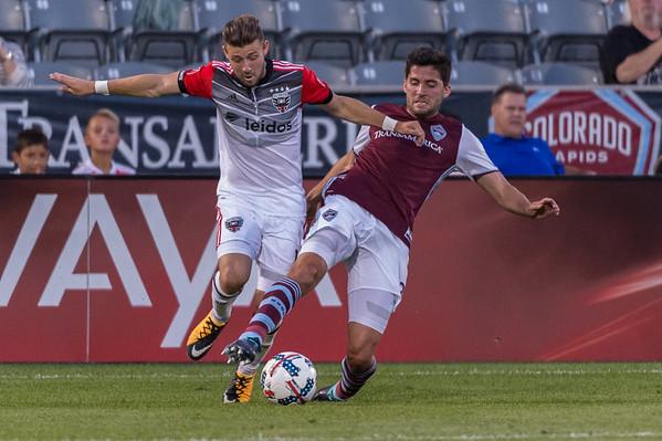 Colorado Rapaids vs DC United - MLS Soccer - 2017-08-19