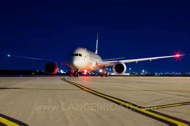 Etihad 787-9 - A6-BLB - BNE