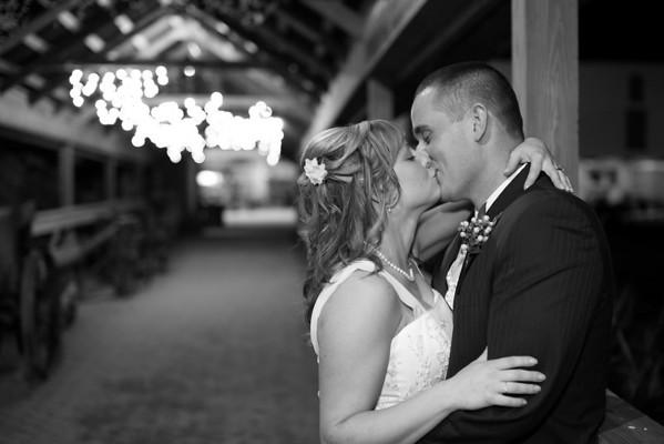 Leslie and Wesley Wedding