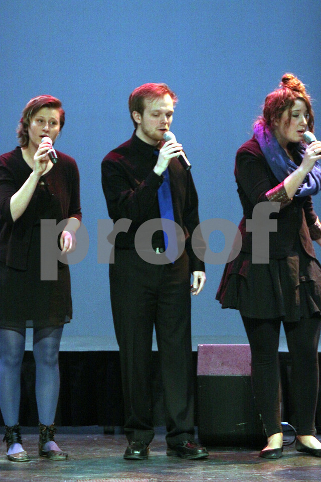 LUTHER COLLEGE VOCAL JAZZ - LUTHER COLLEGE