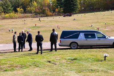 Grandpa Miljour's Funeral