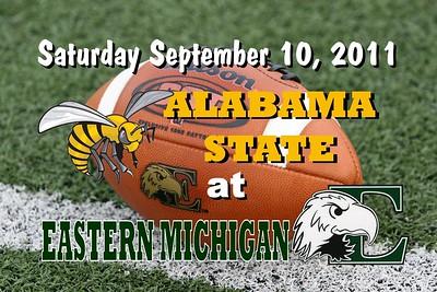 2011 Alabama State at Eastern Michigan (09-10-11)