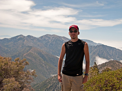 Ian's Hike on Mount Baden-Powell