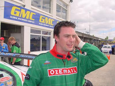 V8 Supercar ride, Sandown, 2001