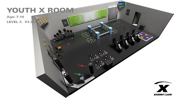 Exergame 3D Layouts