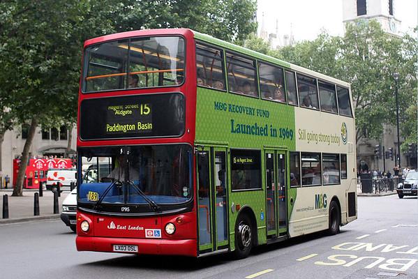 London Advert Buses
