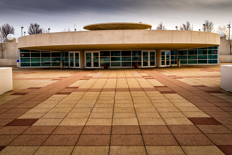Entrance to Wright-Designed Monona Terrace Convention Center, Madison, WI.jpg