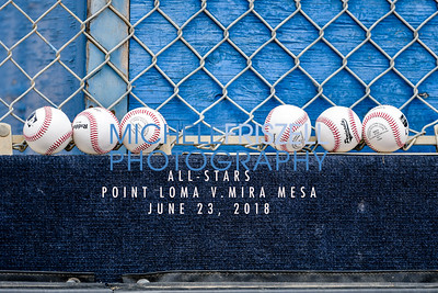 All Stars 8-10 Point Loma vs Mira Mesa June 23, 2018