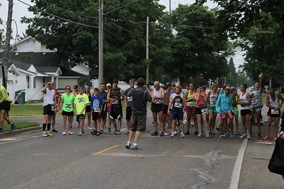 Start - 2013 Lake Cadillac Team Marathon