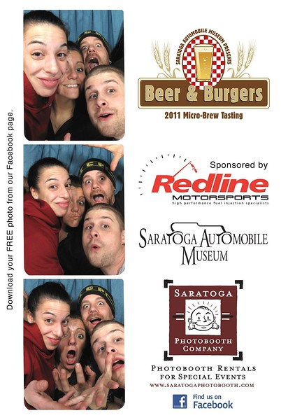 """""""Beer & Burgers"""" at the Saratoga Auto Museum"""