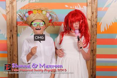 Shenna and Maureen wedding reception 8-8-15