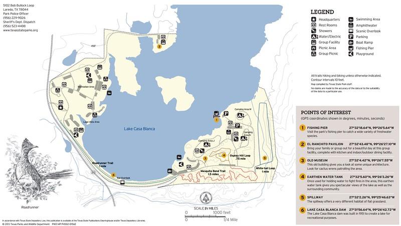 Lake Casa Blanca International State Park (Trails)