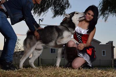 Detrás de cámaras: Caperucita y el Lobo