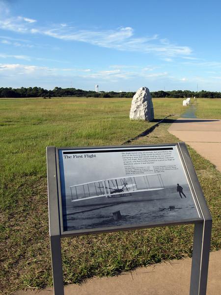 First Flight, Wright Brothers Memorial © Rachel Rubin 2012