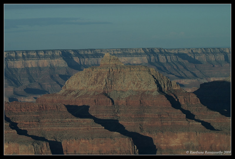 Aerial view of Grand Canyon,  Arizona, September 2009