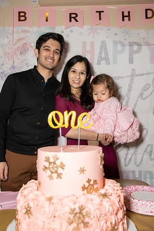Shreya's First Birthday