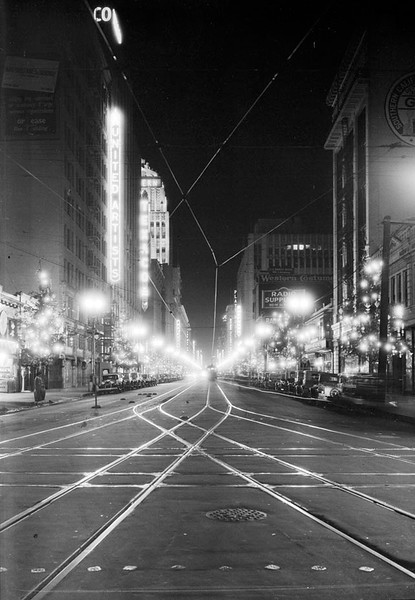 Downtown LA Night Reference