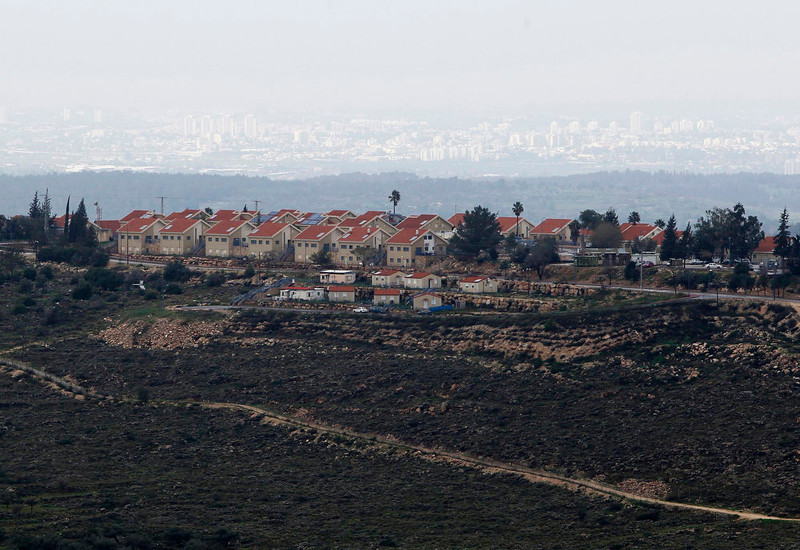 . A general view of the Jewish settlement of Nili, near the West Bank city of Ramallah on February 1, 2013. Israeli settlement construction on occupied land poses the most serious threat to the creation of a Palestinian state alongside Israel, European Union consuls general based in the region said in a report released on February 27, 2013.  REUTERS/Baz Ratner