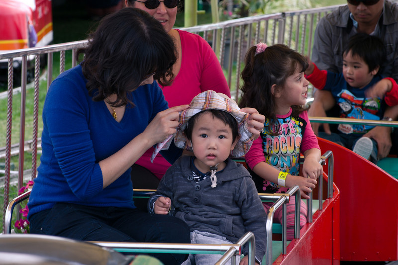 Alex at the Easter Show2011