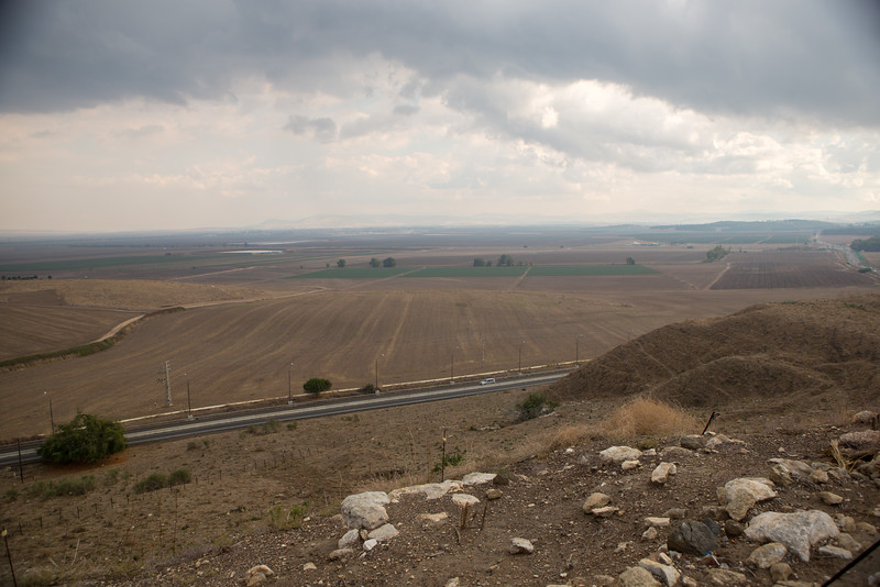 Jezebel Valley as seen from Megiddo