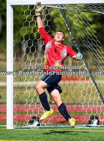 9/4/2014 - Boys Varsity Soccer - Foxborough vs Dedham