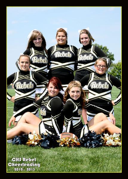Crestview Cheerleading Fall 2012-2013