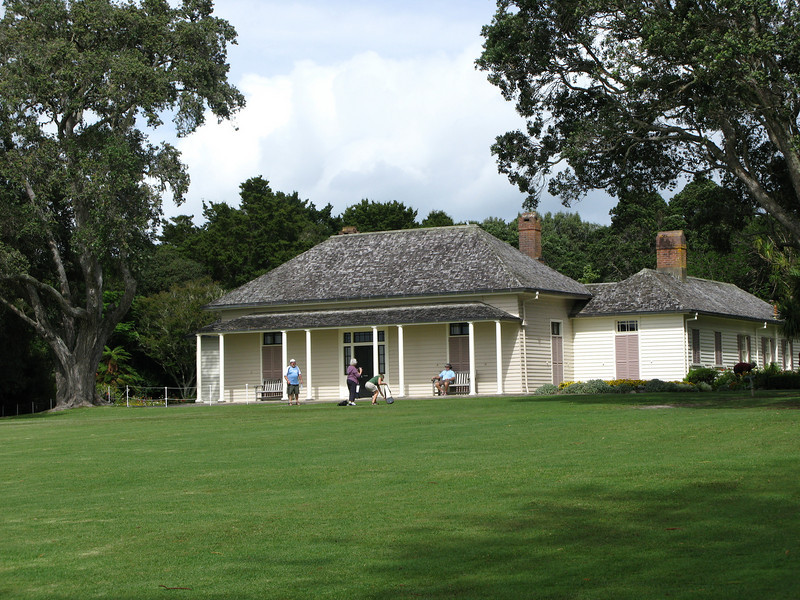 The Treaty House - the original Britsih residency was erected in 1833-34.